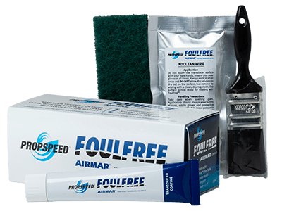 Foulfree Box en tools